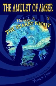 the amulet of amswer series the starry night vincent van gogh yvonne jones author